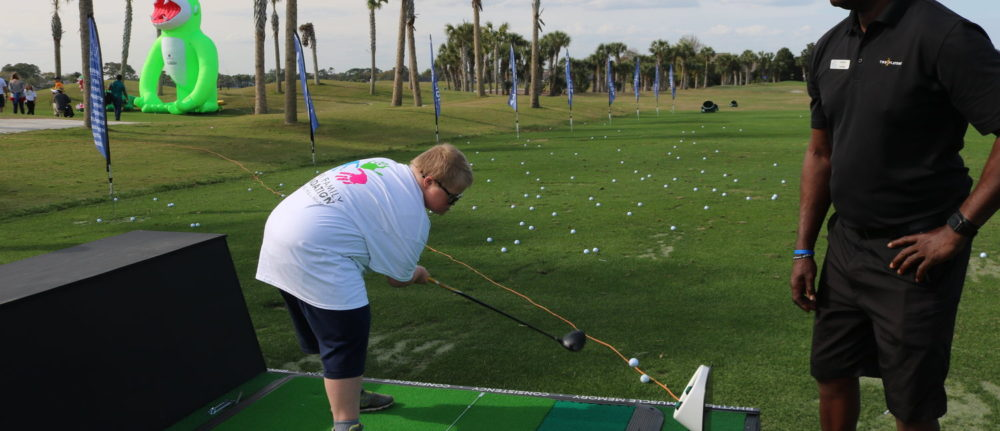 Kids' special needs golf clinic returns at full swing