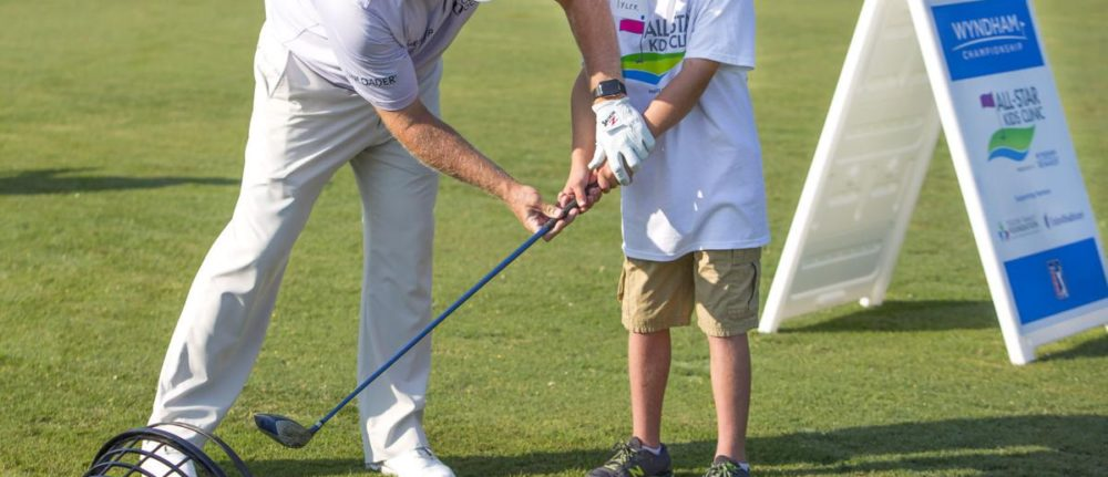 Children get to experience Wyndham in special clinic with pros!