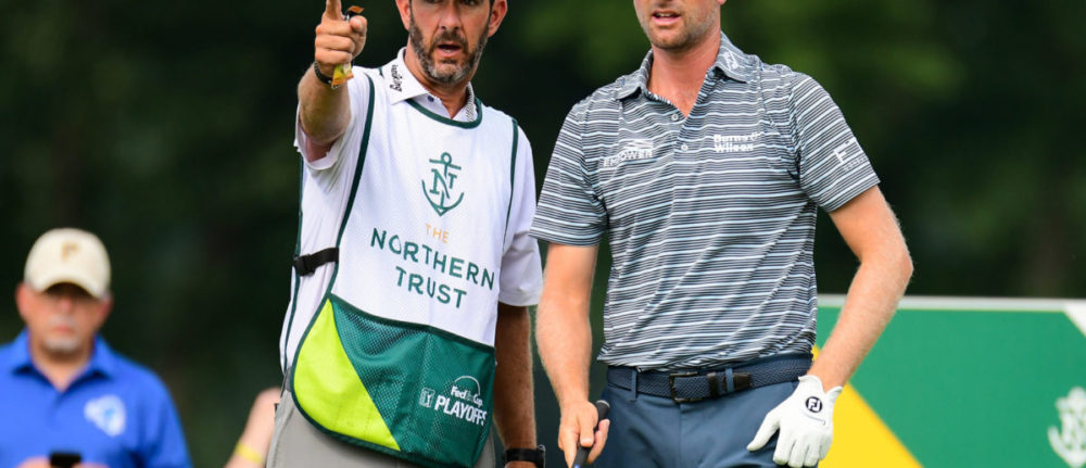 For Paul Tesori, his gig as a caddie is a labor of love