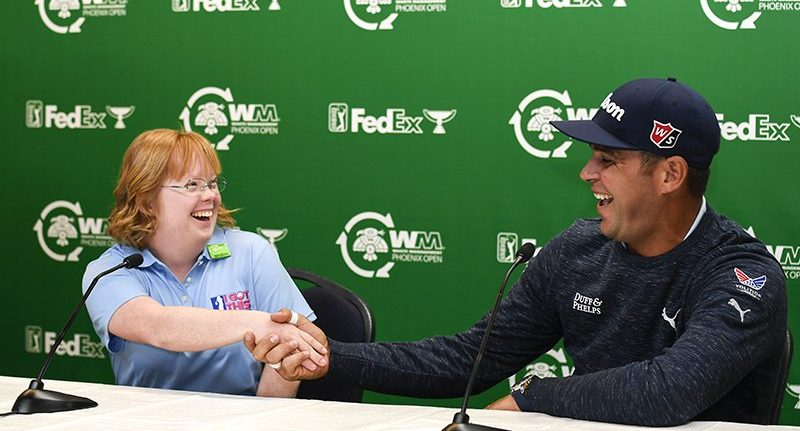 No limits: Amy Bockerstette is back, spreading her message of inclusion at Phoenix Open